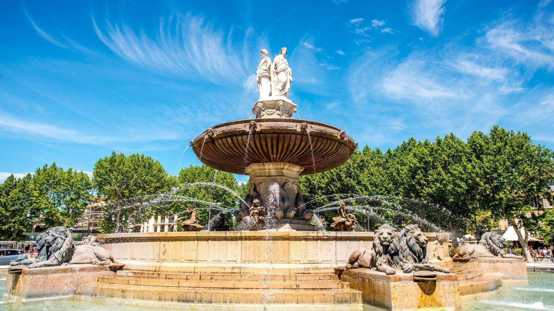 visiter le centre d'Aix en Provence
