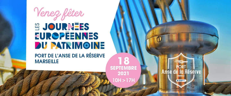 Journées Européennes du Patrimoine au Port de l'Anse de la Réserve