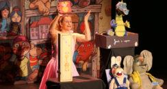 3 spectacles au Théâtre l'Atelier des Arts avec la Cie Sens en Eveil
