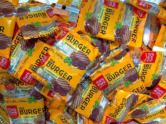 Mr. Veggy aposta em hambúrguer vegano popular