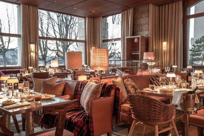 Hotel La Réserve Eden (Suíça) serve brunch aos fins de semana