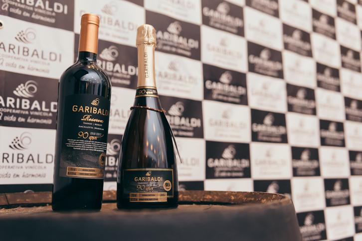 Cooperativa Garibaldi apresenta vinhos dos 90 anos