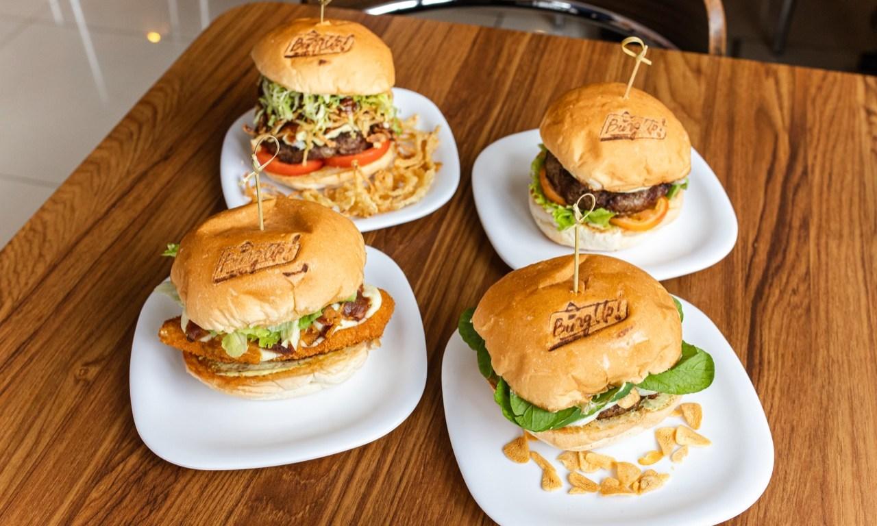 Matriz da Burg Up! tem 4 novos hambúrgueres