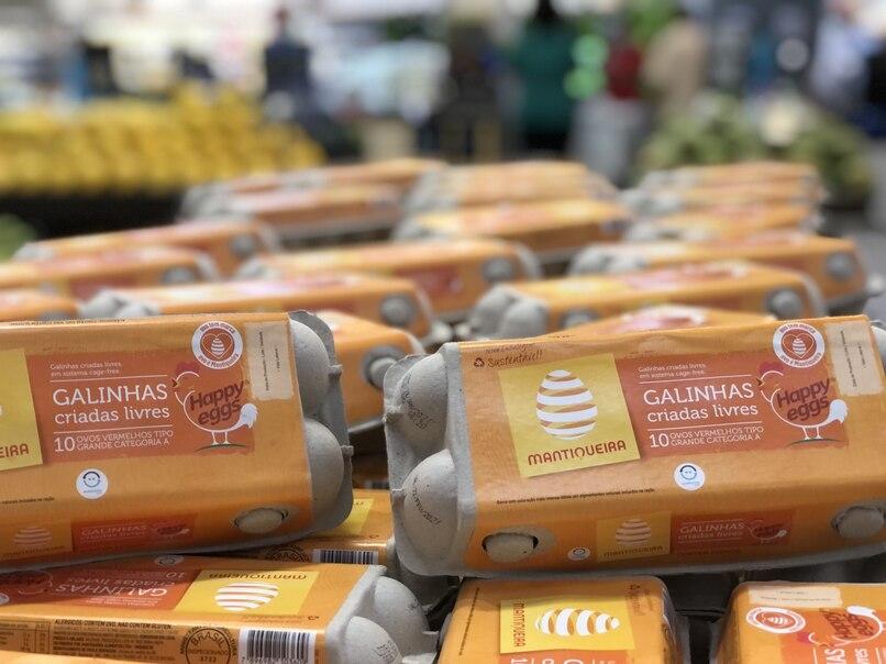 Prezunic Barra (RJ) vende apenas ovos de galinhas livres de gaiolas