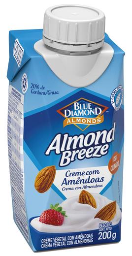 Almond Breeze apresenta creme com amêndoas