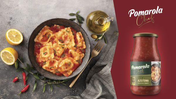 Azeitona é o novo sabor do Pomarola Chef
