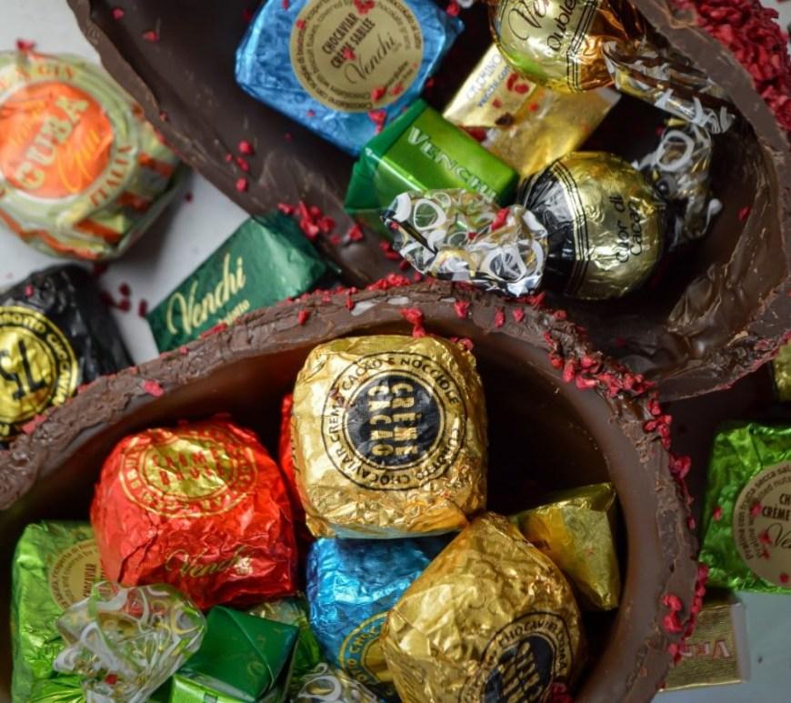 Venchi faz ovo de Páscoa com chocolate italiano