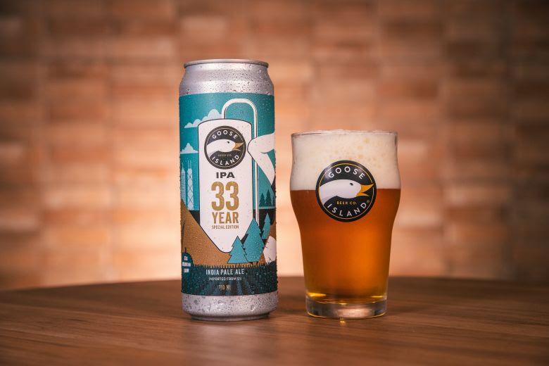 Goose Island celebra 33 anos com cerveja IPA