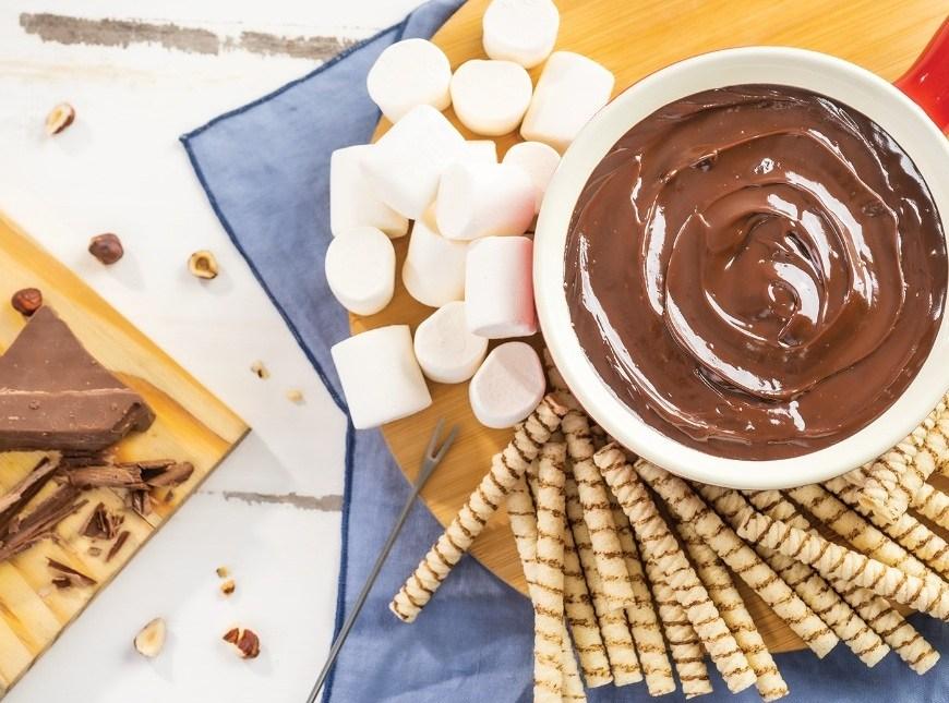 Cheftime tem opções de kits de fondue