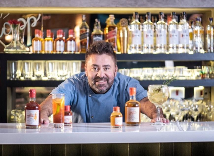 Chef Melchior Neto aposta em linha de destilados