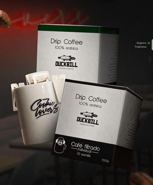 Duckbill lança Drip Coffee na versão orgânica