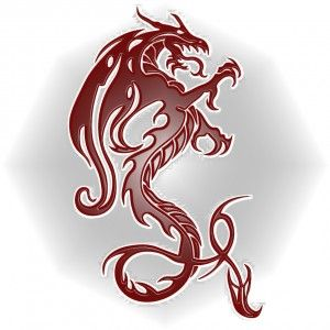 Dragon-Rojo-relieve