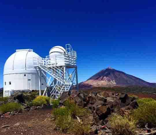 Instituto de Astrofísica de Canarias. Uno de los 10 imprescindibles de Tenerife o qué ver en Tenerife sí o sí