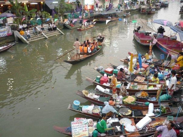Amphawa Tailandia El río durante el día foto de Lee de Caires
