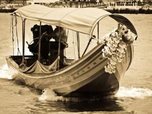 Barcos de Bangkok