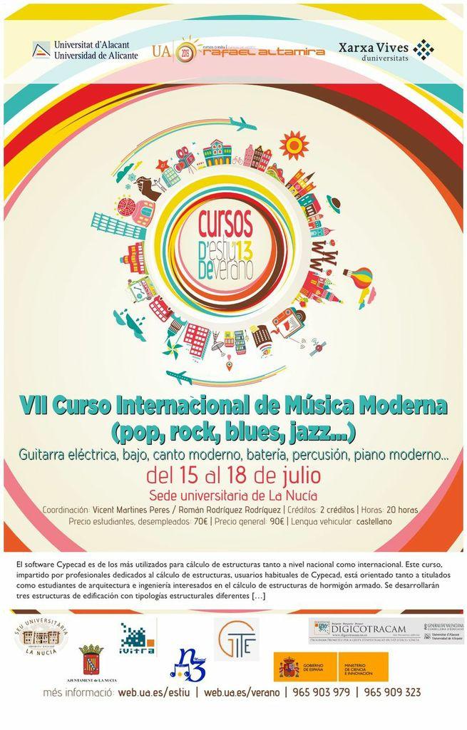 VII Curso Internacional de Música Moderna