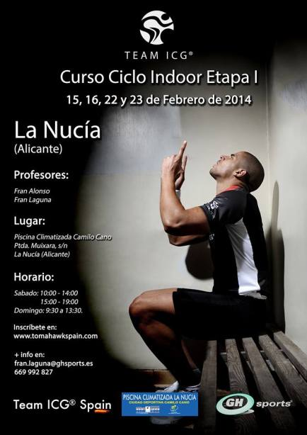 La Nucia cartel Ciclo Indoor 2014