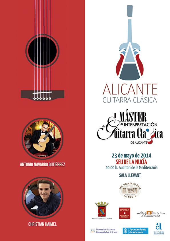 La Nucia Cartel Art Concert mayo 2014