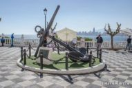 Ancla antiguo navío Benidorm