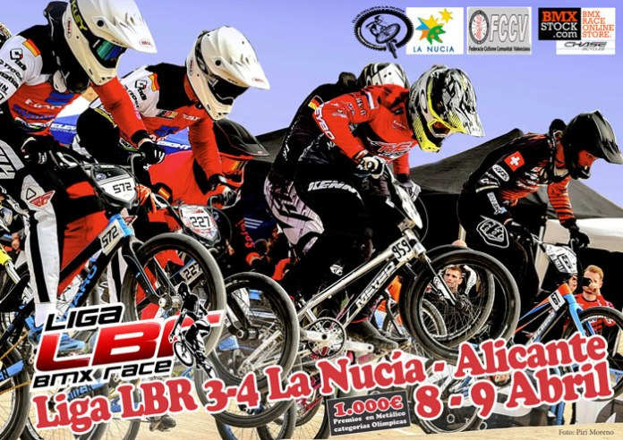 Liga Nacional de BMX Race en La Nucía