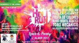 I holy run en Alfaz del pi