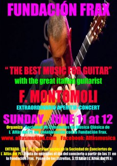 "Concierto-aperitivo ""The best music for guitar"""