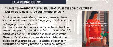 """Navarro Ramón expone """"El lenguaje de los colores"""""""