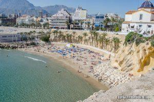 playas del malpas Benidorm