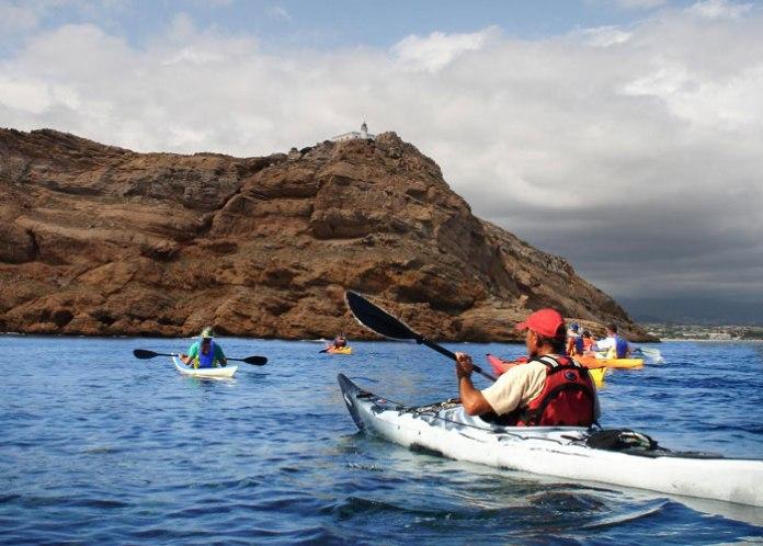 salida gratuita en kayak