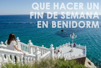 Resumen de las actividades que puedes hacer en un fin de semana en Benidorm
