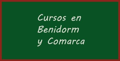 Cursos y talleres en Benidorm y comarca