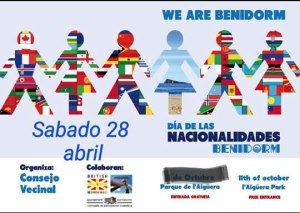 El día de las nacionalidades se celebrará en el parque de l'Aïguera