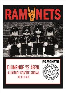 Ramonets ofrecerá un concierto con el mejor rock infantil