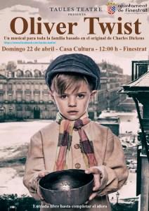 """Musical familiar """"Oliver Twist"""" en Finestrat"""
