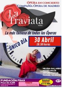 """""""La traviata"""" llega a la Fundación frax"""