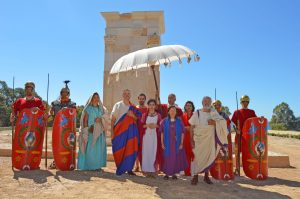 Festum Alonis está organizado por la Asociación Cultural Hispania Romana y el Ayuntamiento de Villajoyosa