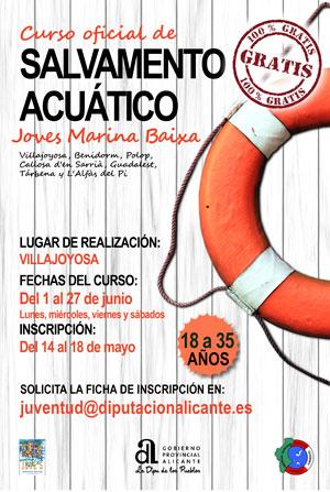 curso de salvamento acuático