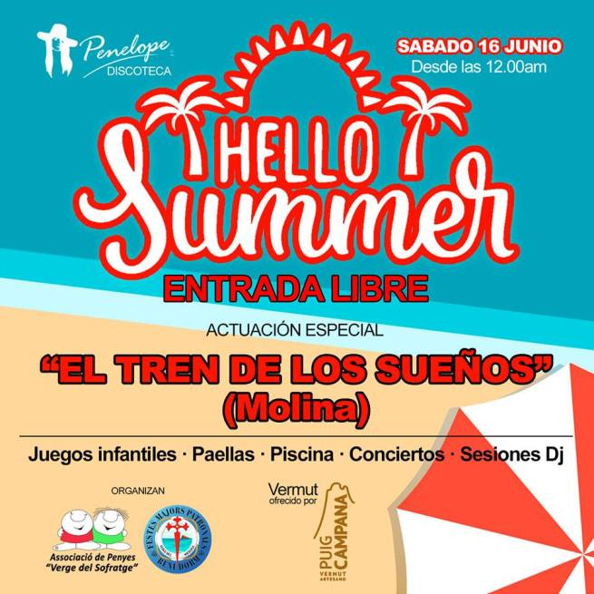 Benidorm recibe el verano con Hello Summer