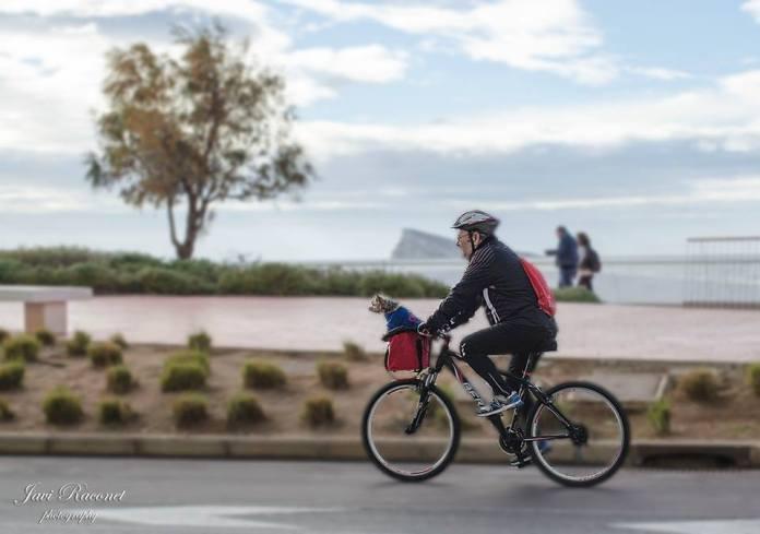 benidorm paraiso ciclista