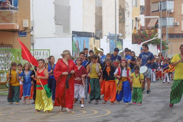 desfile infantil de Moros y Cristianos
