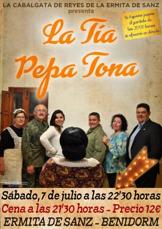 """""""La Tía Pepa Tona"""" llega a la Ermita de Sanz"""