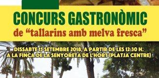 concurso gastronómico de tallarines con melva la vila 2018
