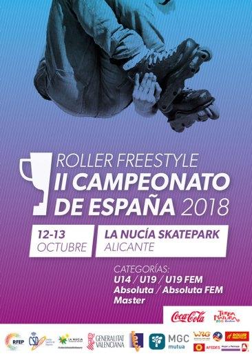 Nacional Roller Freestyle La Nucia 2018