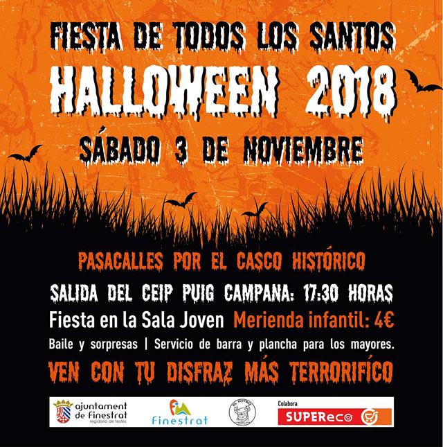 Finestrat Halloween 2018