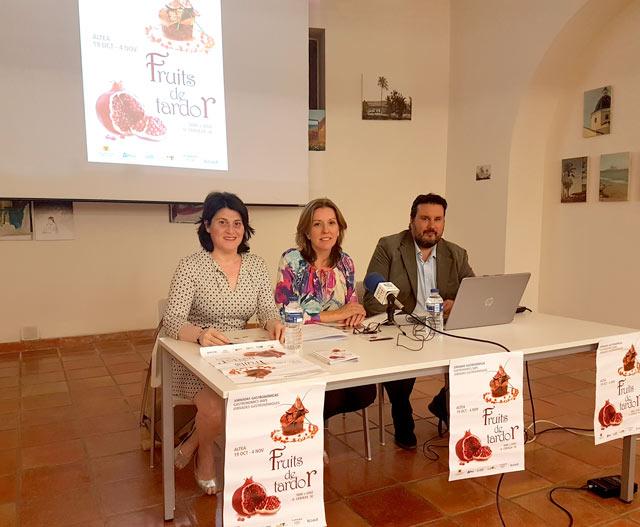Jornadas Gastronomicas Altea Fruits de Tardor presentacion
