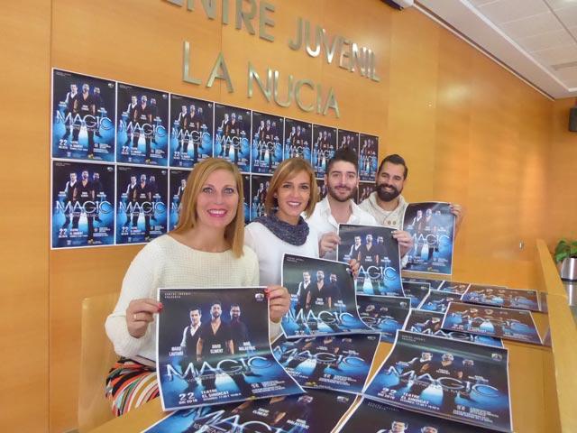 """II Gala de Magia Solidaria de La Nucía """"Ya vienen los Magos"""""""