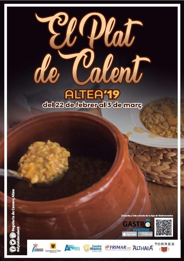 iii edicion el plat de calent Altea 2019