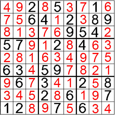 que hacer en benidorm sudoku nivel 3 resuelto