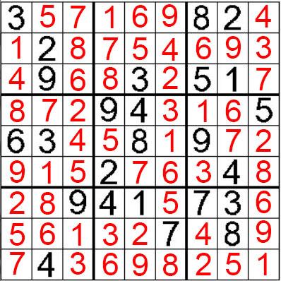que hacer en benidorm revista sudoku nivel 5 resuelto