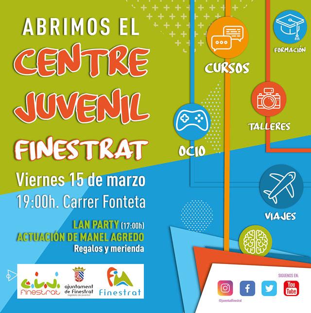 Apertura Centro Juvenil Finestrat 2019